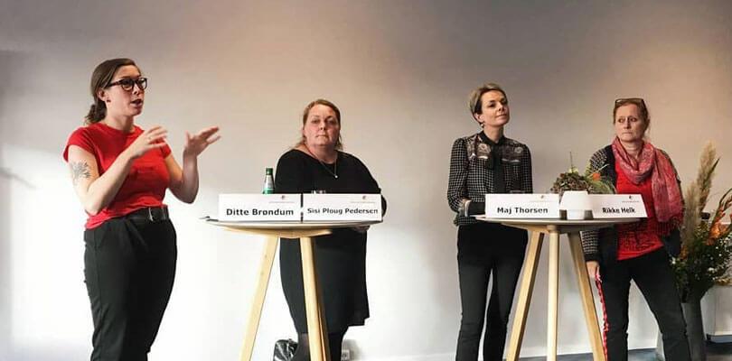 Ditte Brøndum - Paneldebat - Næstformand i Dansk Socialrådgiverforening