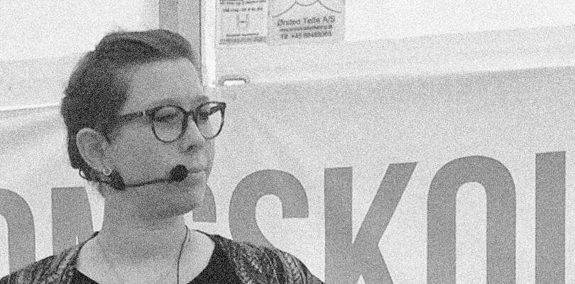 Ditte Brøndum - Næstformand Dansk Socialrådgiverforening - Folkemødet Bornholm